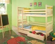 Детская двухъярусная кровать Колобок
